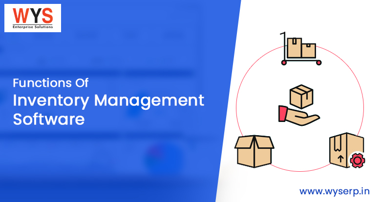 What are the basic functions of inventory management software